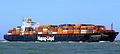 Tokyo Express p1 approaching Port of Rotterdam, Holland 20-Jun-2007.jpg