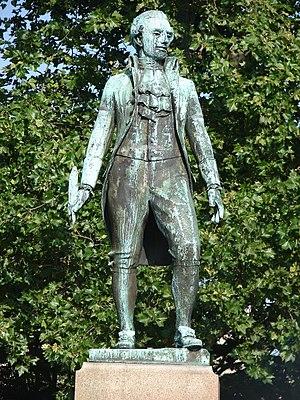 Thomas Fitzsimons - Statue of Fitzsimons in Philadelphia