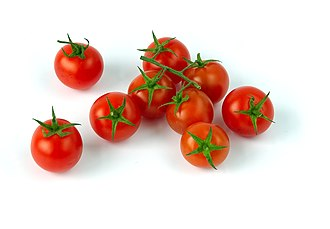 Cherry tomato - Image: Tomates cerises Luc Viatour