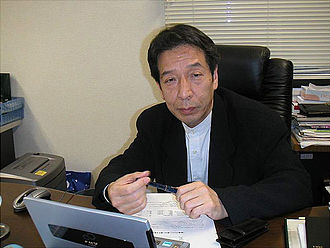 Video gaming in Japan - Tomohiro Nishikado, creator of the shooter game Space Invaders.