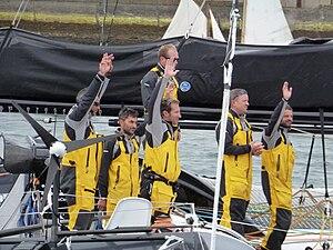 Tonnerres de Brest 2012 - Equipage du Spindrift Racing - 002.JPG