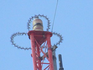 Tower of the Americas - The very top of tower of Americas