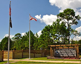 Topsail Hill Preserve State Park - Image: Topsail Hill Preserve State Park main entrance