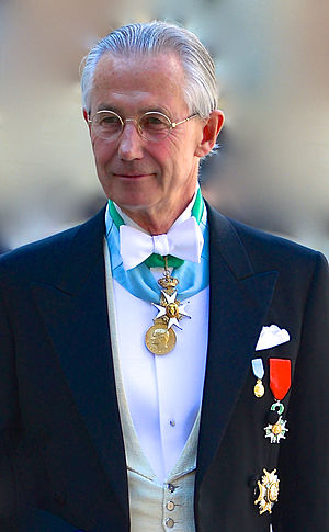 Tord Magnuson - Magnuson attends the wedding of his niece Madeleine in June 2013