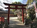 Torii of Tenkai Inari Shrine in Dazaifu Temman Shrine.jpg