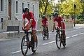 Tour d'Espagne - stage 1 - cofidis après la course.jpg