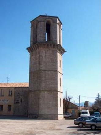 Le Luc - The hexagonal tower in Le Luc