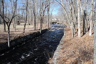 Bridgewater Iron Works - Town River at Iron Works Park