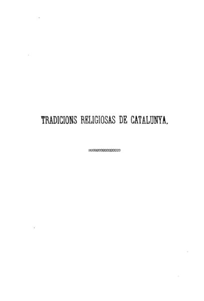 File:Tradicions religiosas de Catalunya (1877).djvu