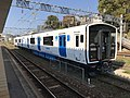 Train of Kashii Line at Kashii Station 10.jpg