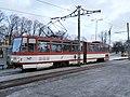 Tram 147 at Old City Tallinn 15 January 2015.JPG