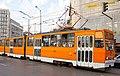 Tram in Sofia near Macedonia place 2012 PD 045.jpg