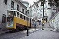 Trams funiculaire de Lisbonne DA GLORIA (Portugal) (5581391539).jpg
