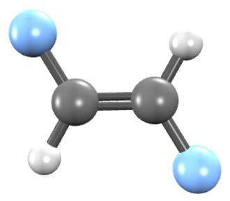1,2-Difluoroethylene - Image: Trans 1,2 difluoroethene