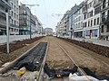 Travaux tram Strasbourg-Koenigshoffen (2019), interstation Porte blanche - Faubourg national 04.jpg