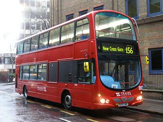 Travel London - Wright Eclipse Gemini bodied Volvo B7TL in February 2006