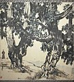 Tree and man(selfportrait) Xu Beihong. Guimet.jpg