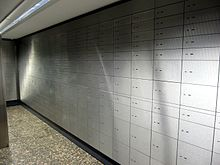 Schliessfach Bank