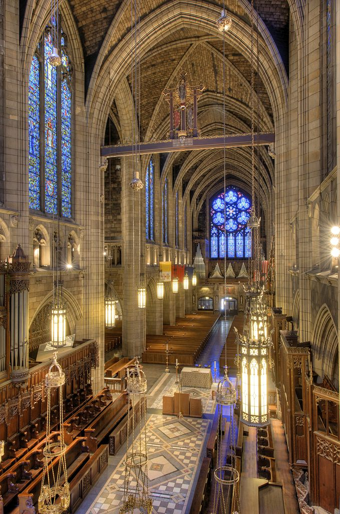 File Triforium View Of Church Of St Vincent Ferrer Nyc