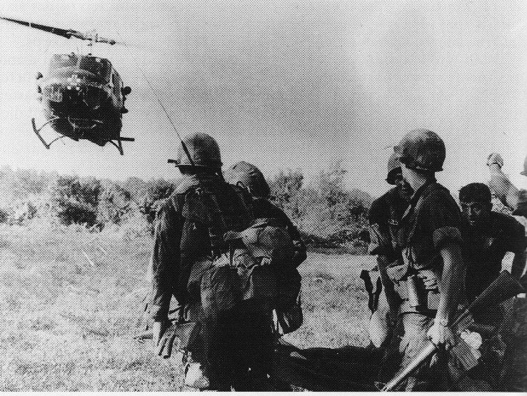 Troops of the 173rd Airborne during Operation Greeley (Battle of Dak To, 1967)