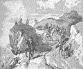 """Tropas francesas. Ilustración de """"La corte de Carlos IV"""" de Galdós.jpg"""