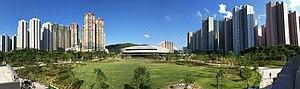 Tseung Kwan O New Town - The view from Tseung Kwan O Town Park