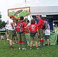 Tsoiotsi Tsogalii Lodge members at NOAC 2006..jpg