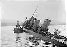 Sabordage de la flotte allemande à Scapa Flow — Wikipédia