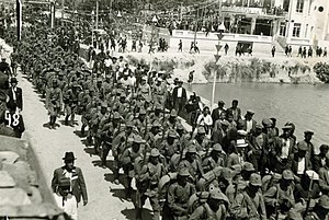 Hatay Province - Turkish forces under Colonel Şükrü Kanatlı entered İskenderun on July 5, 1938.