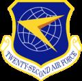 Twenty-Second Air Force - Emblem.png
