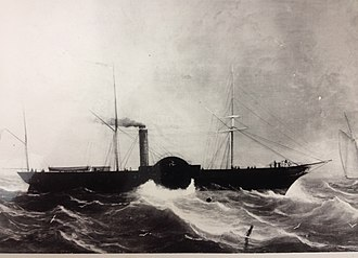 SS Tynwald (1846) - Painting of Tynwald (artist unknown).