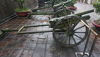Type 41 75 mm mountain gun - Type 41 75 mm mountain gun in Vietnam Military History Museum