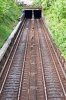 U-Bahnlinie U3 (Hamburg-St. Pauli).Tunneleinfahrt Richtung Sternschanze.ajb.jpg
