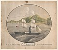 U.S.S. frigate Saranac, off San Juan Sur, Nicaragua LCCN2003677776.jpg