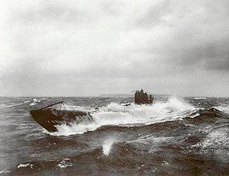 SM UB-105 - Image: UB 148 at sea 2