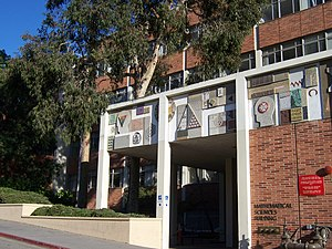UCLA College of Letters and Science - UCLA's Math-Sciences Bldg.