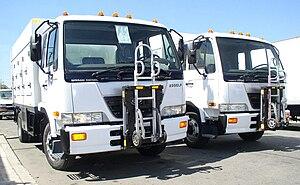 Nissan Diesel Condor - UD 2300 LP (Nissan Diesel Condor) ice cream delivery trucks