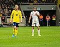 UEFA EURO qualifiers Sweden vs Spain 20191015 Emil Forsberg and Dani Carvajal.jpg