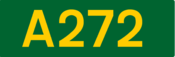 A272 road shield