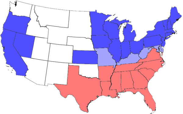 Border states (American Civil War) - Wikiwand