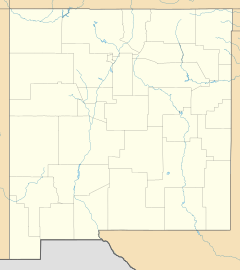 Santa Rosa is located in New Mexico