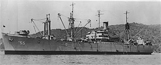 USS <i>Alshain</i> Andromeda-class attack cargo ship