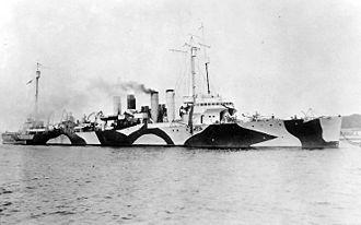 Caldwell-class destroyer - Image: USS Caldwell (DD 69)