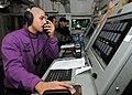 USS Carl Vinson (CVN-70) - JP-5 fuel on-load, pump room.jpg