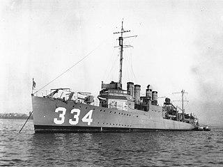 USS <i>Corry</i> (DD-334)