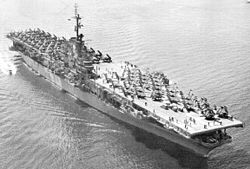 USS Essex (CV-9) underway in the early 1950s.jpg