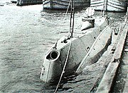 USS Holland (SS-1) - Scientific American 1898