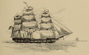 USS Massachusetts (1845) - Image: USS Massachusetts (ships, 1845) Cassier's 1894 12