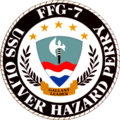 USS Oliver Hazard Perry (FFG-7) insignia, 1977.png