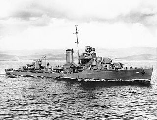 USS <i>Ralph Talbot</i> (DD-390) Bagley-class destroyer